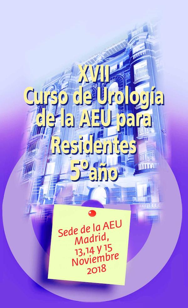XVII Curso de la AEU para Residentes de 5º año